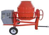 China 450L portátil y mezclador de hormigón móvil