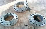 Flange livre da soldadura do soquete do forjamento do aço inoxidável da engrenagem Dn600