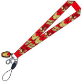 Kundenspezifisches Printed Lanyards mit Detachable Buckle