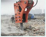Roca hidráulica del excavador ampliamente utilizado que rompe el martillo, martillo de los cortacircuítos