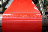 Bobina d'acciaio galvanizzata preverniciata, decorante materiale