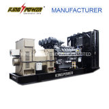 6300V를 가진 Perkins 1000kw High Voltage Diesel Generator