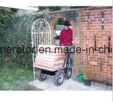 Carrinho de mão de /Power do carregador do jardim das vendas da fábrica (base lisa)