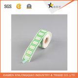 Etiqueta térmica da impressora do código de barras da etiqueta autoadesiva feita sob encomenda do serviço de impressão do vinil
