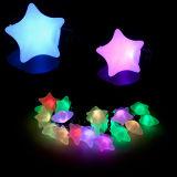 Lumière extérieure de chaîne de caractères de Noël de la forme DEL d'étoile de décoration imperméable à l'eau
