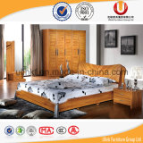 좋은 품질 미국 간단한 작풍 나무로 되는 침실 세트 (UL-CH002)