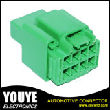 Разъем электрического компьютера автомобиля пластичный зеленый мыжской автоматический