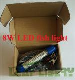 [12ف] أبيض خضراء [لد] تحت مائيّ [فيش بيت] طعم ضوء غوّاصة ليل صيد سمك مصباح