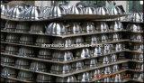Utensilios de cocina coloridos de la caldera que silba del acero inoxidable