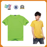 Teeshirts faits sur commande avec l'impression de logo (HY8790)