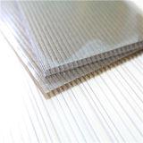 Hoja Ultravioleta-Revestida del material de construcción del policarbonato del panal