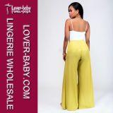 Desgaste atractivo de los pantalones y de mujeres de la manera de las tapas (L28035-2)