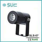 Appareils d'éclairage extérieurs imperméables à l'eau IP65 de petit éclairage LED imperméable à l'eau en aluminium d'endroit
