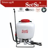 pulvérisateur agricole manuel de pression manuelle du sac à dos 15L/sac à dos (SX-LK15B)