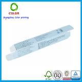 Pequeño rectángulo cosmético del papel de encargo barato de la pestaña