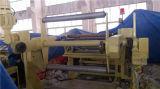 Papier d'occasion, tissu non-tissé, machine feuilletante d'extrusion de textile