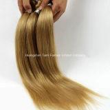 """волосы объемной волны #Blonde 7A сотка бразильские волос 20 """""""