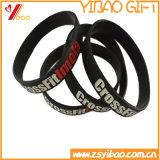 Wristband su ordinazione del silicone con stampa di marchio per i regali (YB-SW-60)