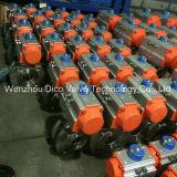 Двойной пневматический шариковый клапан вафли Италии с давлением 150lb