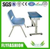Bureau en de Stoel van uitstekende kwaliteit van het Meubilair van het Klaslokaal het Regelbare Enige (sf-13S2)