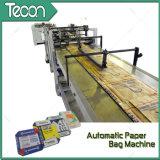 De volledig-automatische Gelijmde Zakken die van het Document van de Klep Machine maken