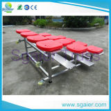 Basketball Court를 위한 좋은 Quality Outdoor Metal Telescopic Seating From 광저우