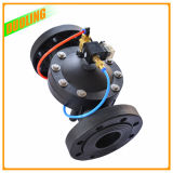 Valvola di plastica di posizione di modo 2 del nero 2 con la valvola a sfera