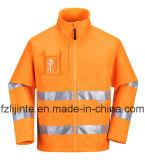 Куртка высокого Workwear безопасности видимости отражательная