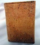 Portatarjetas al por mayor del cuero del corcho, portatarjetas del regalo (C56)