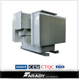trasformatore elettrico a bagno d'olio a tre fasi 15kv