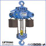 elektrische Kettenhebevorrichtung 15t mit Eisen-Ketten-Beutel
