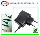 8W VDE Plug AC/DC Adapter Black
