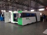 a máquina de estaca do laser da fibra 2000W com Duplo-Troca a estaca da tabela de funcionamento/laser da fibra