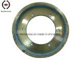 바퀴 또는 회전 숫돌을 네모로 하는 분단된 지속 변죽
