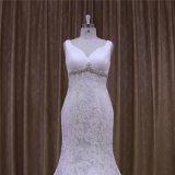 Nixe-Spitze-neues Ankunfts-Hochzeits-Kleid