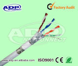 Cuivre de faisceaux de numéro du câble LAN du chat 7 de SFTP 8