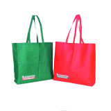 Pp Nonwoven Shopping Bag met omhooggaande Cover en Zipper