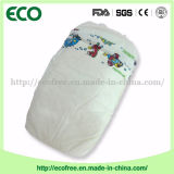 Un pannolino poco costoso a gettare del bambino dell'OEM Peaudouce del grado con lo strato posteriore respirabile