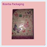 Подгонянная цветастая поздравительная открытка подарка
