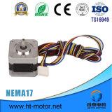 Elektrische Hybride Stepper NEMA 17/42*42 4wire het Stappen Motor voor 3D Printer