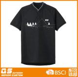 Camiseta de la manera del V-Cuello de los hombres