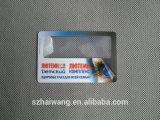 Bestes verkaufen85*55mm Namenskartefresnel-Objektiv-Vergrößerungsglas