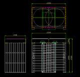 Altura cheia impermeável elétrica Tourniquete/sistema do controle de acesso porta dos torniquetes