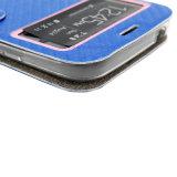 SamsungまたはiPhoneのための高品質I9082 Leather/PUの携帯電話のアクセサリの保護カバーか箱