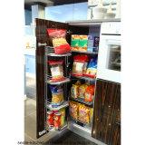 Gabinete de cozinha do folheado