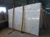 Голубой мраморный сляб мрамора Onyx 3 сляба Cm толщиной мраморный
