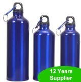 La bouteille d'eau en aluminium BPA de sport libèrent