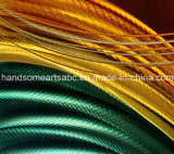 Pintura al óleo roja, amarilla, esmeralda del metal - color modificado para requisitos particulares, tamaño aceptado