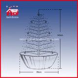 Neue Form-schneiende Weihnachtsbaum-Feld-Unterseiten-Ausgangsdekoration