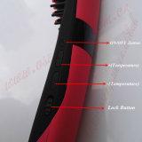 Cepillo tricolor de la enderezadora del pelo de Nasv -300